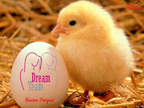 Buona Pasqua da DREAM TEAM!