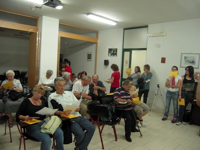 6 luglio 2012 – Maratona della Lettura al Centro Hurtado