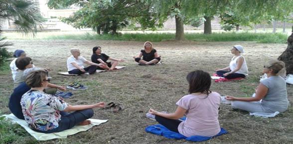 Kundalini Yoga in villa comunale