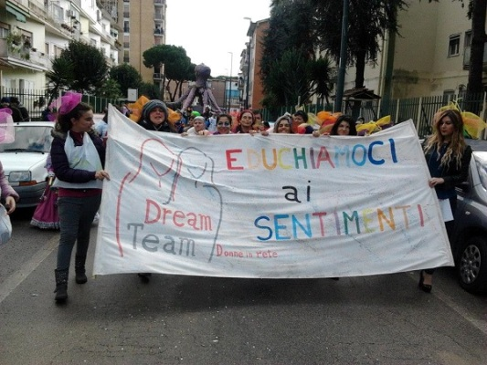 Carnevale del Gridas 2014: DREAM TEAM alla sfilata