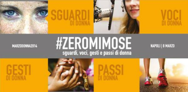 8 marzo 2014: Dream Team all'evento #zeromimose