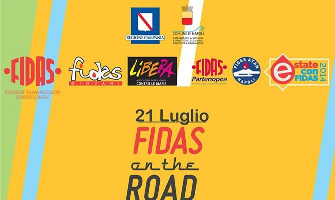 Fidas on the road a Scampia
