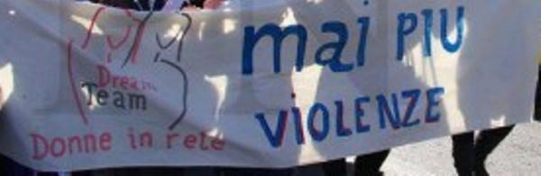25 novembre 2014: DREAM TEAM alla Giornata Internazionale per l'Eliminazione della Violenza contro le Donne