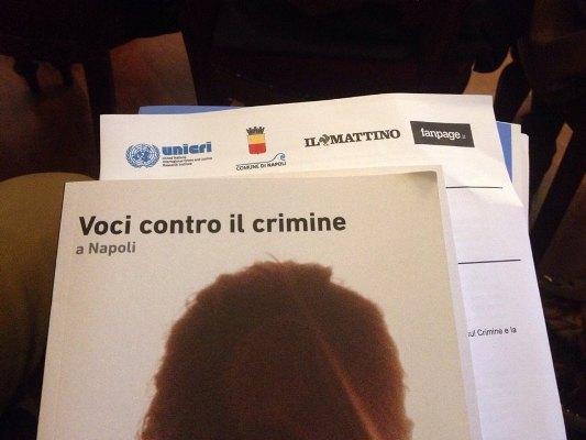Voci contro il crimine: il contributo di DREAM TEAM