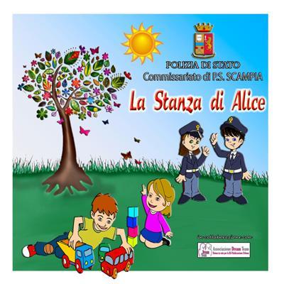 La stanza di Alice, uno spazio a misura di bambino nel commissariato di Scampia