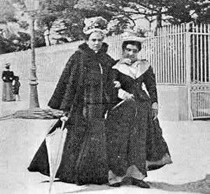 Matilde Serao ed Eleonora Duse