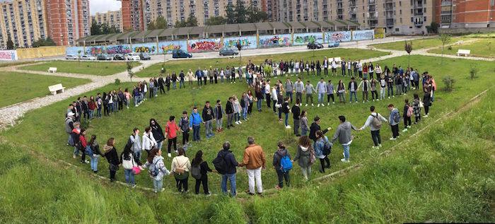 Un posto occupato in memoria delle vittime di femminicidio