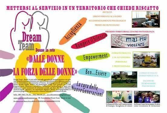L'associazione Dream Team – Donne in Rete e i segni positivi lasciati sul territorio di Scampia