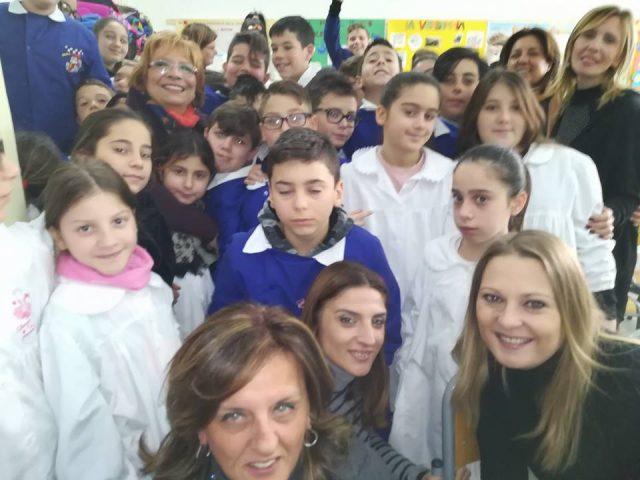 Pangea Day, l'associazione Dream Team – Donne in Rete è stata alla scuola Pertini con il percorso della non violenza