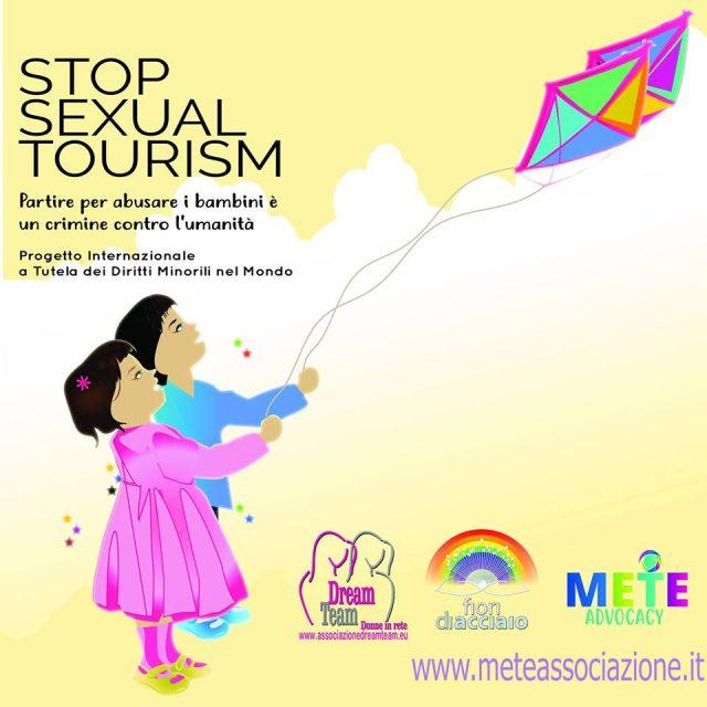 STOP SEXUAL TOURISM: partire per abusare i bambini è un crimine contro l'umanità