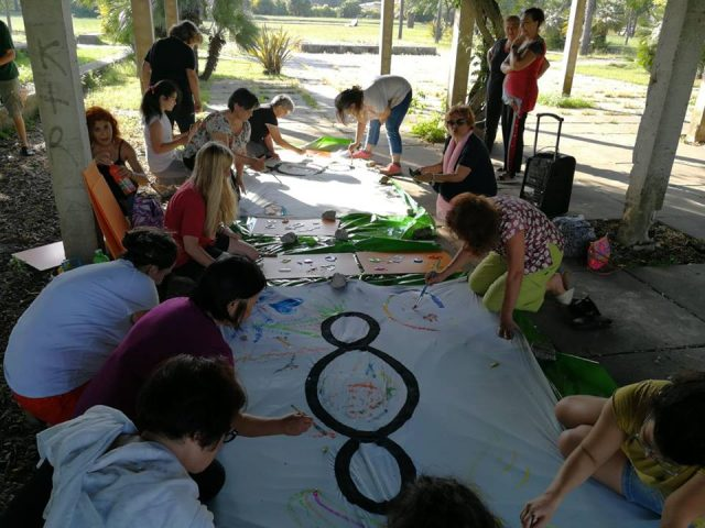 Decimo Simposio d'arte a Scampia – Musica pittura e danza