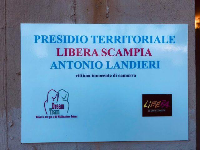 Nasce il presidio territoriale di Libera Scampia dedicato alla memoria di Antonio Landieri