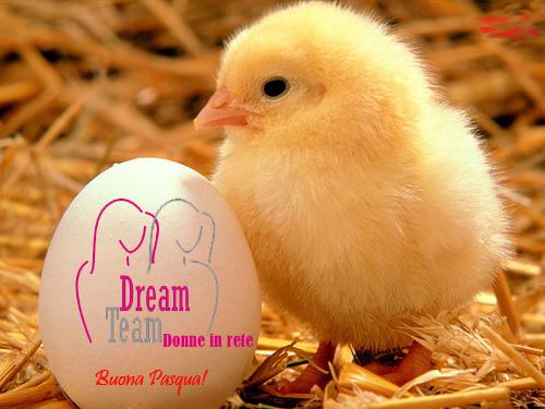 Buona Pasqua dall'Associazione Dream Team – Donne in Rete